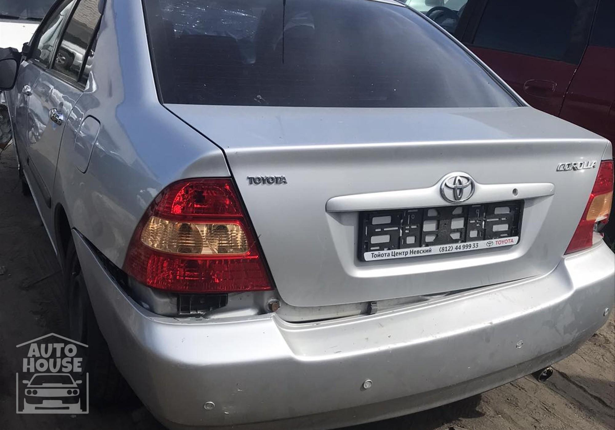 Toyota Corolla E120/E130 в разборе