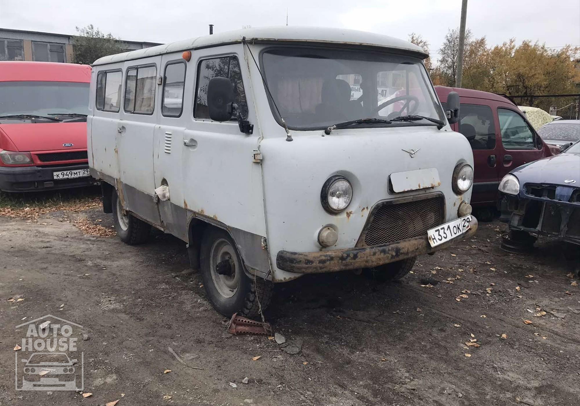 УАЗ 469 в разборе