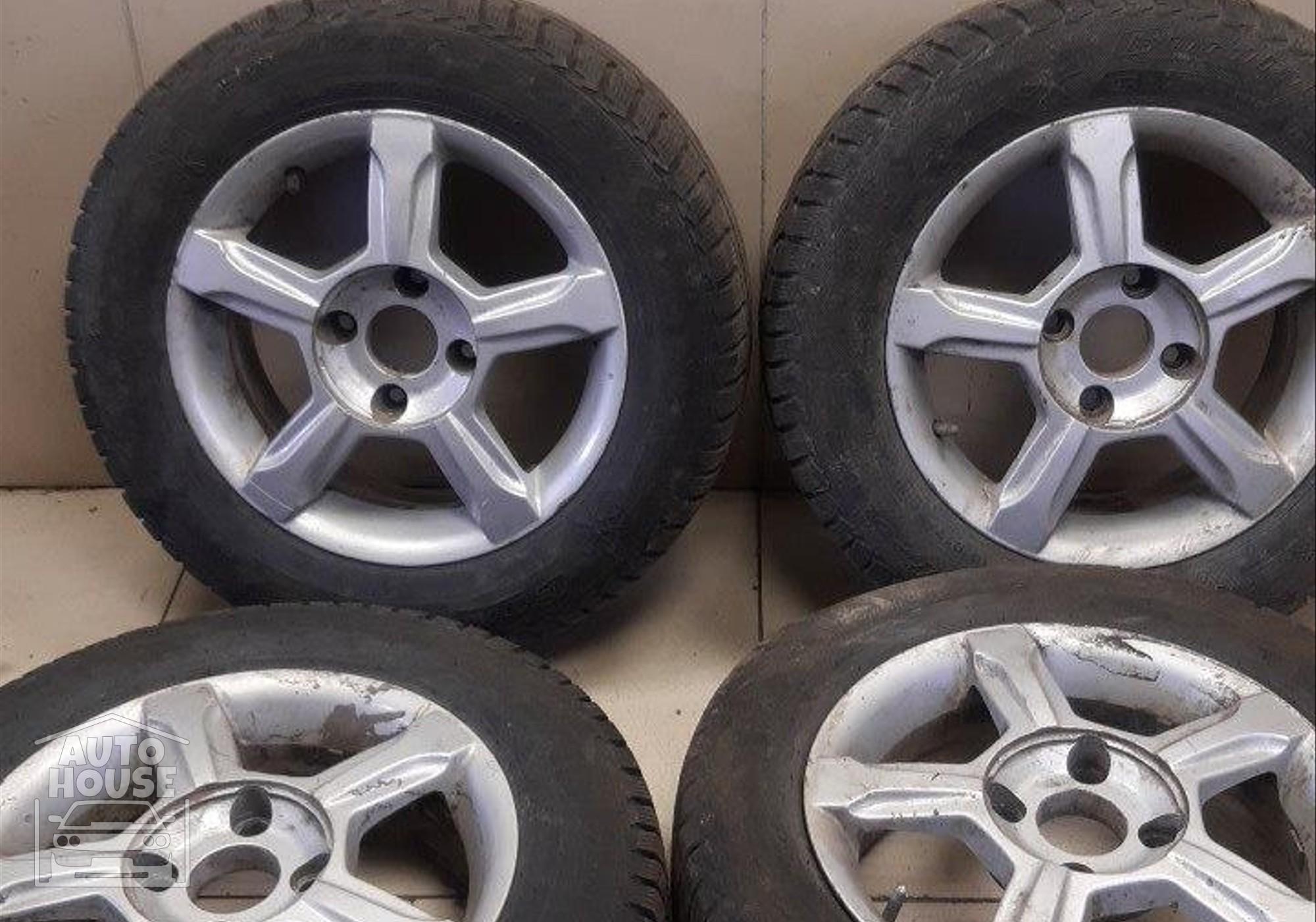 Колесо в сборе комплект r15 для Nissan Primera P11 (с 1996 по 2001)
