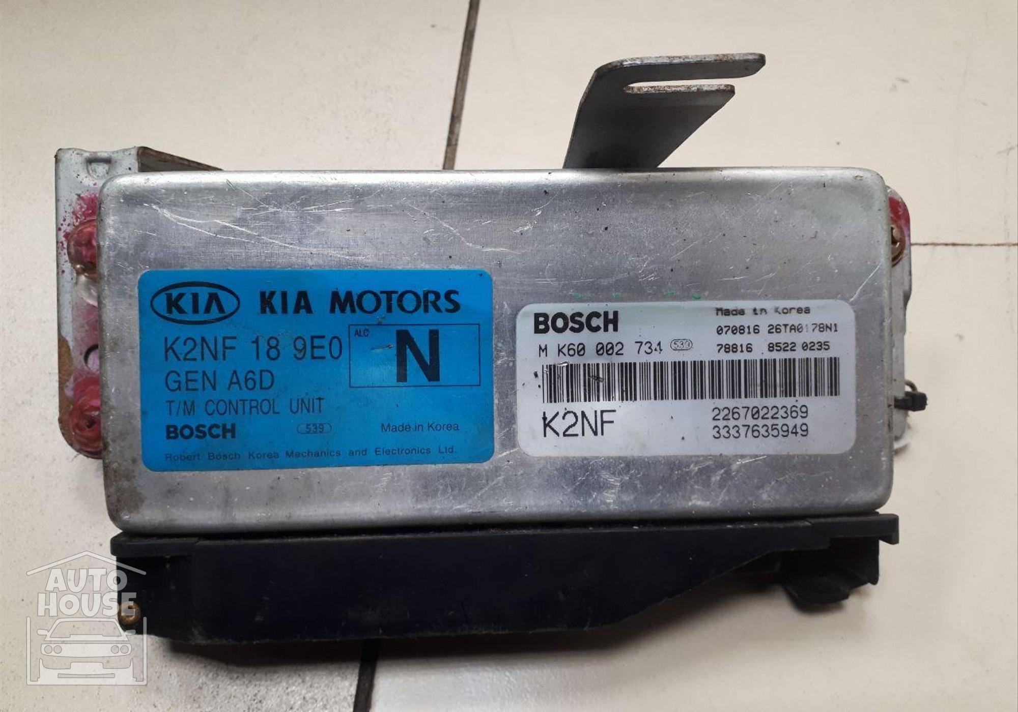 K2NF189E0 Блок управления АКПП для Kia Spectra I (с 2001 по 2004)
