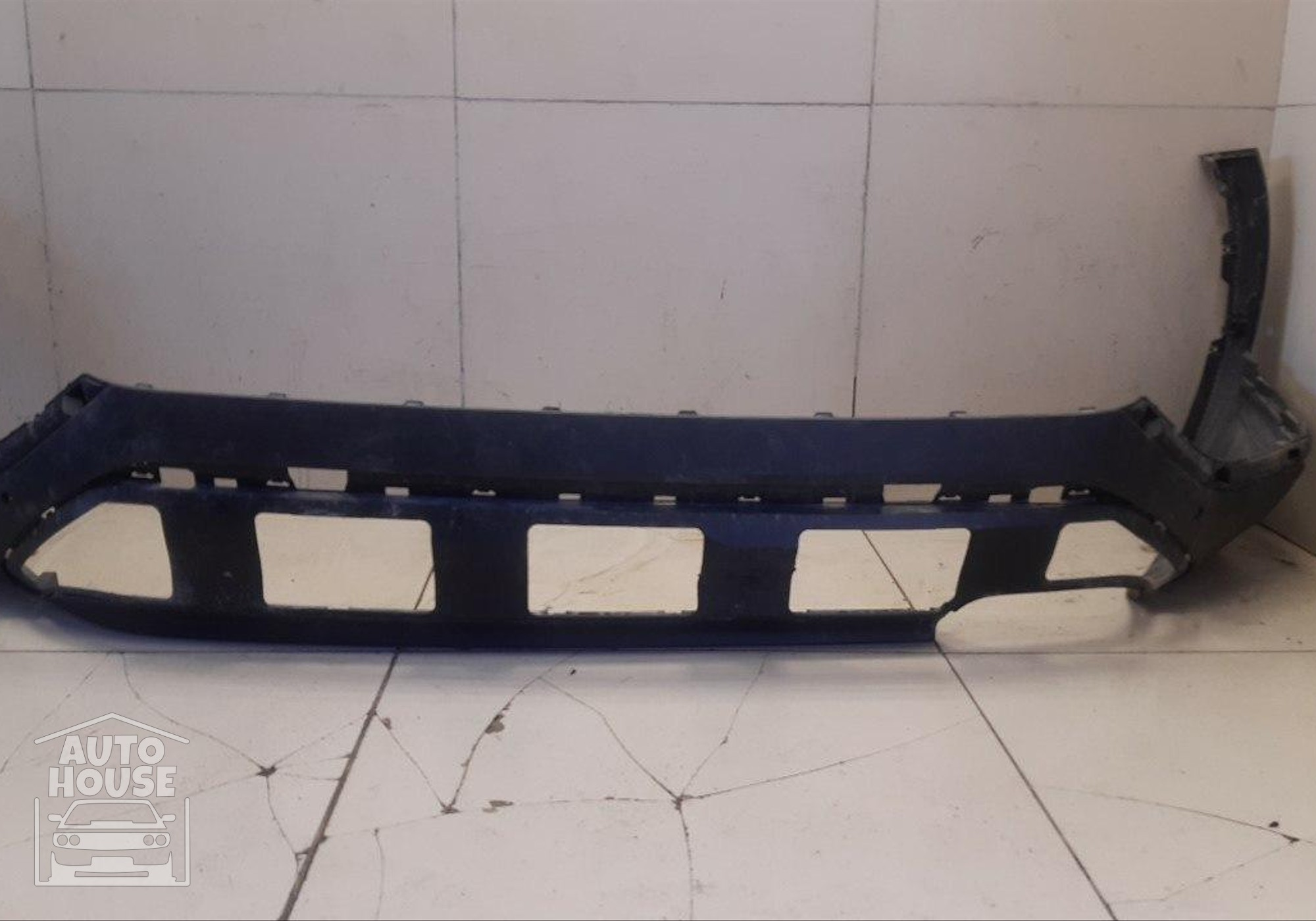 86612S1000 Бампер задний юбка для Hyundai Santa Fe IV (с 2018)