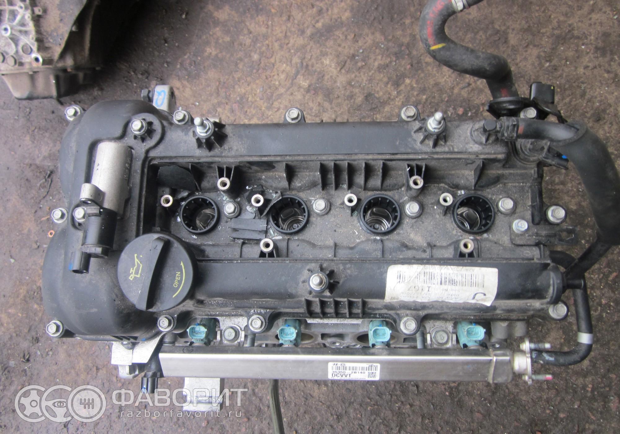 Двигатель 1 6 G4FG Z79412BZ00 для Kia Ceed II - купить б/у за 57999 р