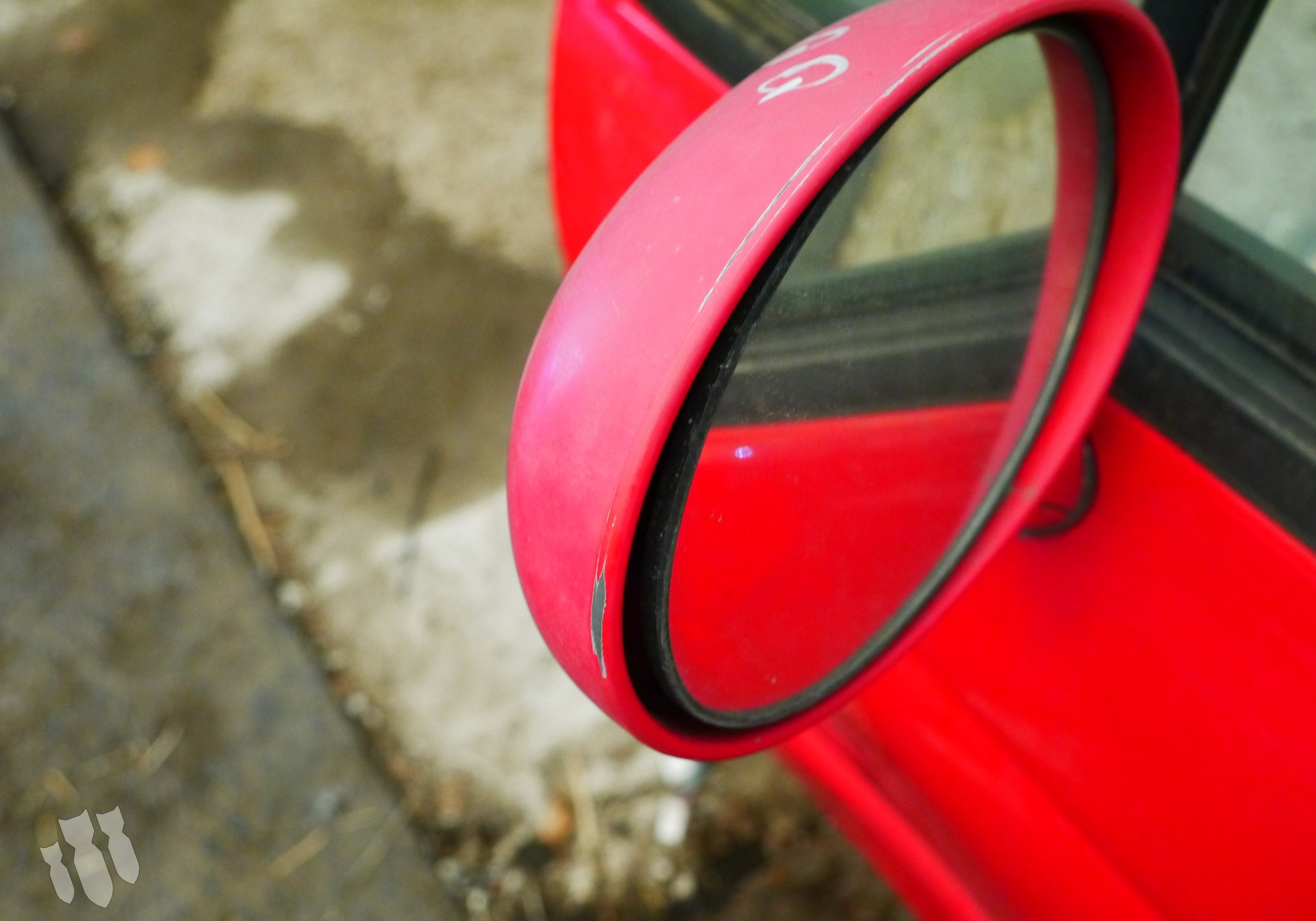 S118202010BA Зеркало заднего вида боковое левое для Chery Sweet / QQ / QQ3 (с 2003)