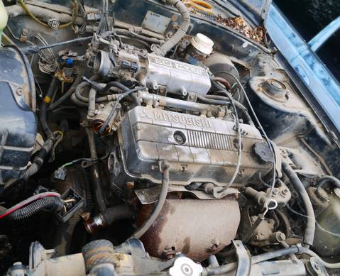 4G63 Двигатель в сборе для Mitsubishi Galant VI (с 1987 по 1992)