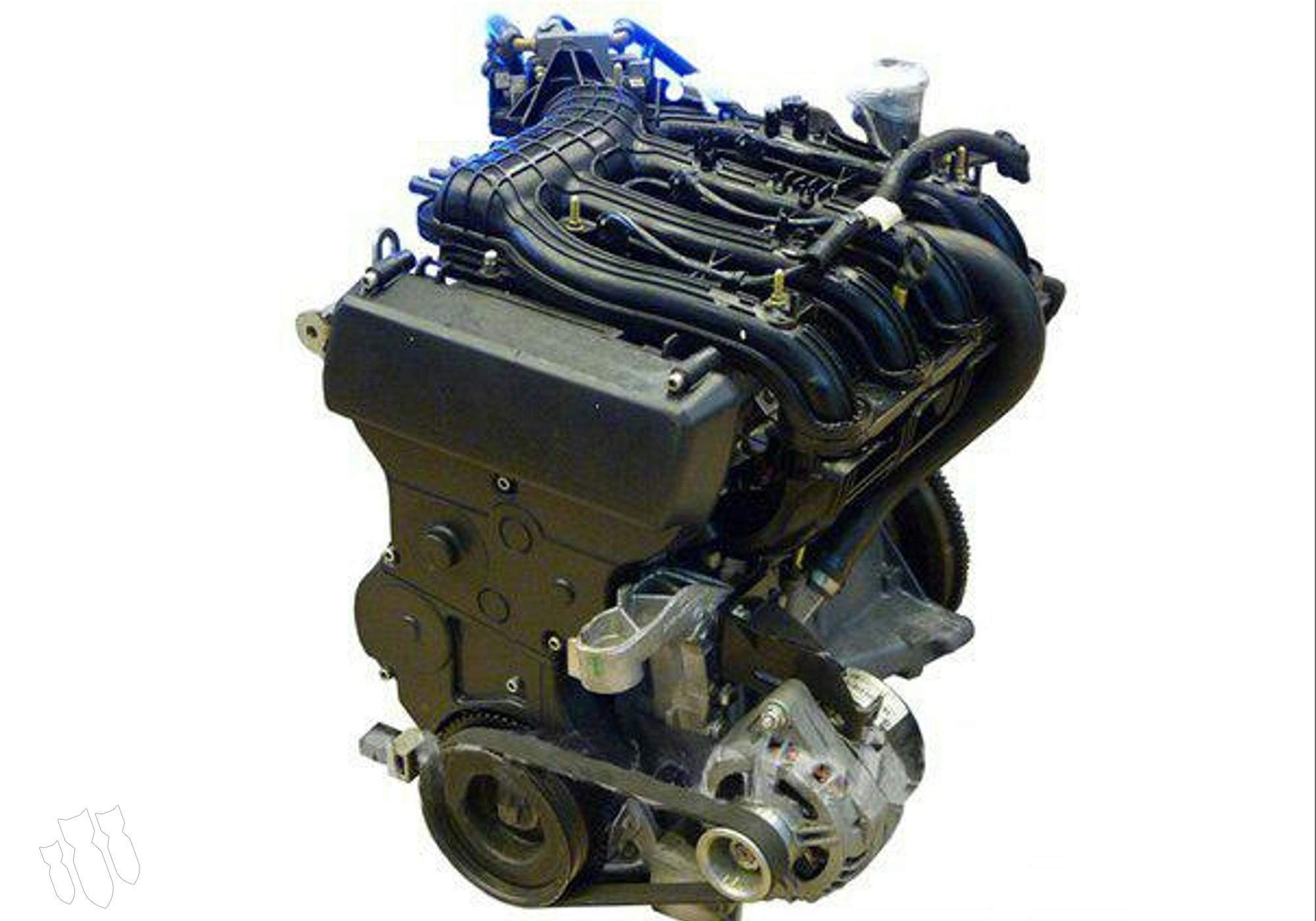 194 Двигатель 1,4 для Lada Kalina I (с 2004 по 2013)