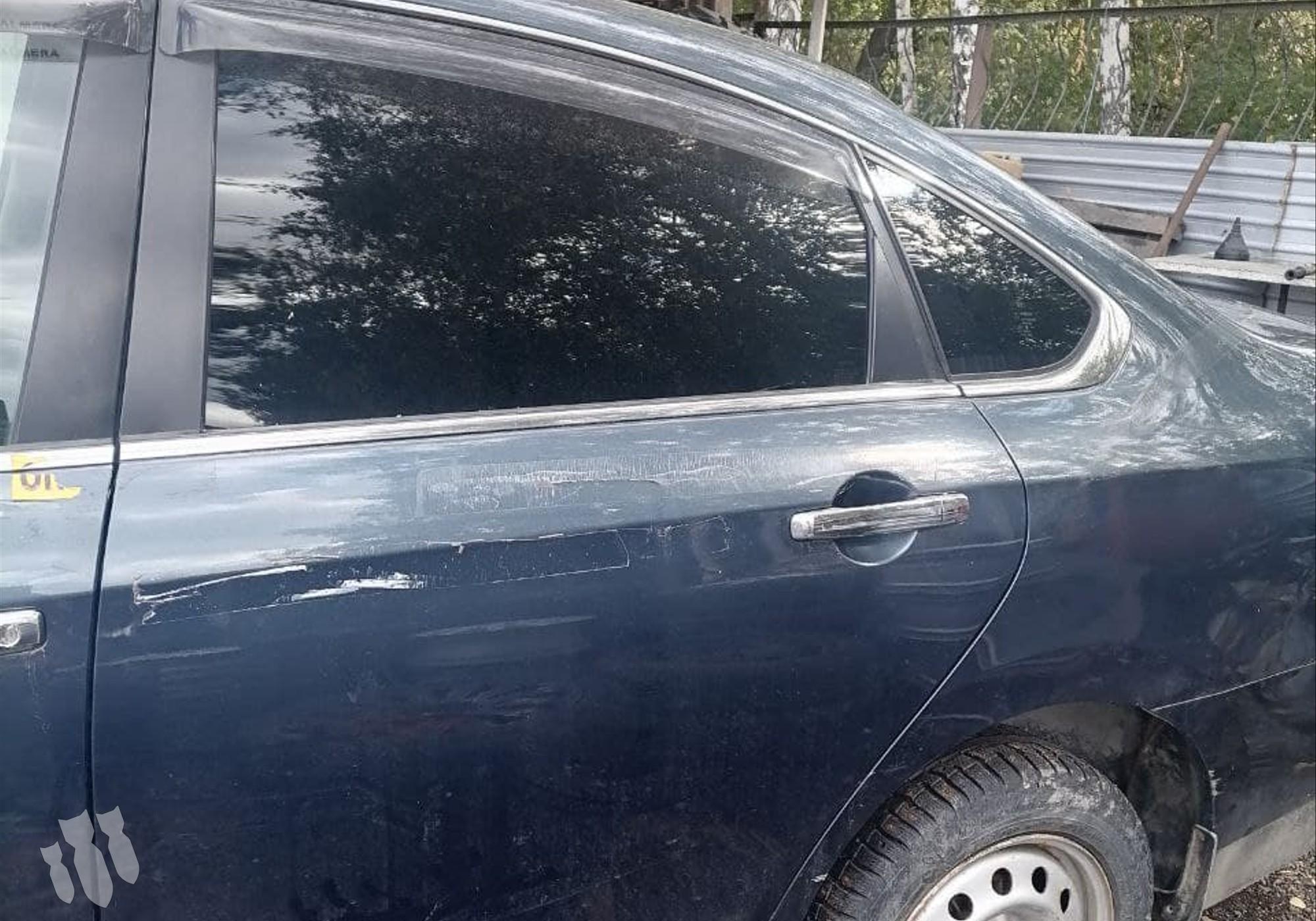 Дверь задняя левая для Nissan Almera III (с 2012 по 2018)