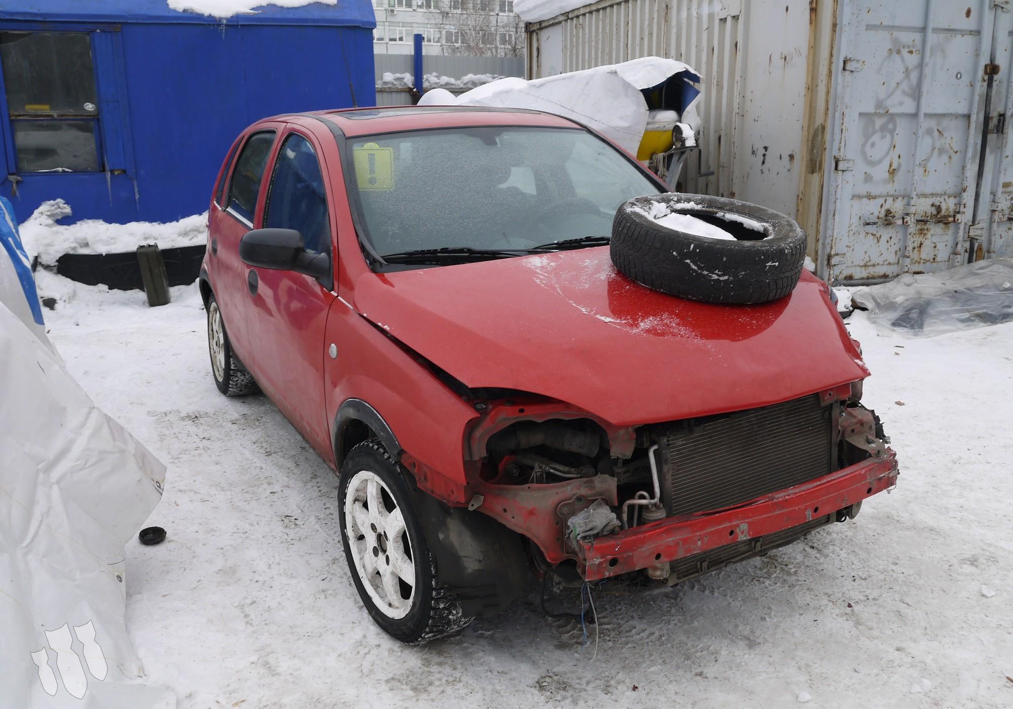 Opel Corsa C 2005 г. в разборе