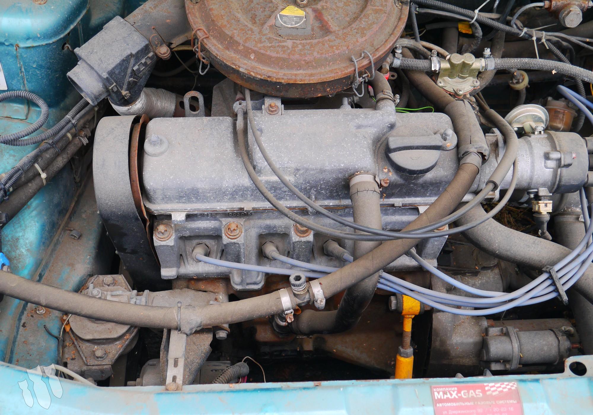 Двигатель в сборе для Lada 2110