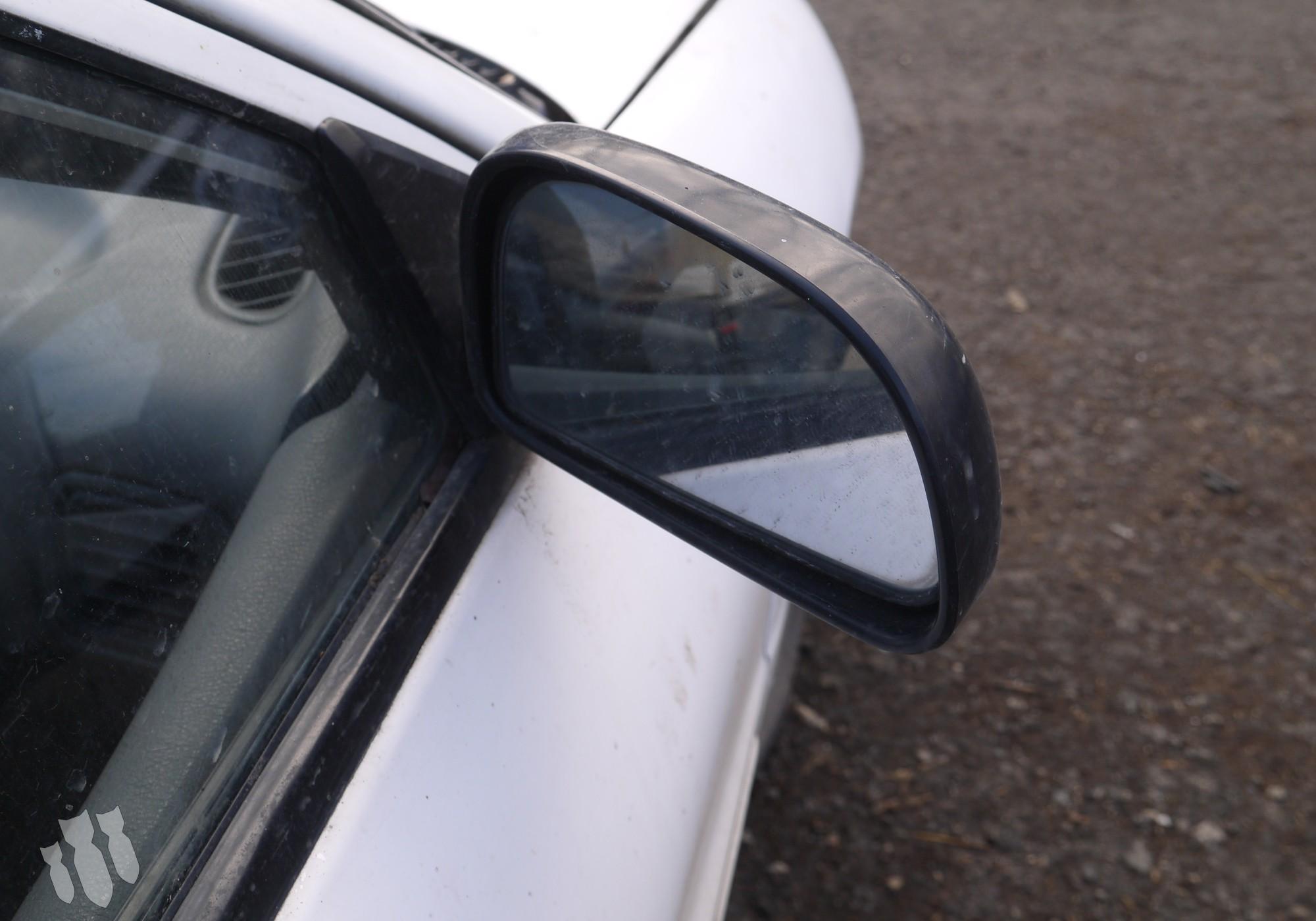 MR191812 Зеркало заднего вида боковое правое для Mitsubishi Lancer