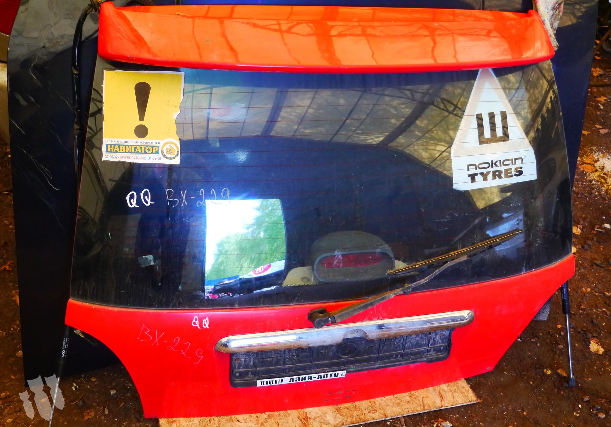 S116300100DY Крышка багажника для Chery Sweet / QQ / QQ3 (с 2003)