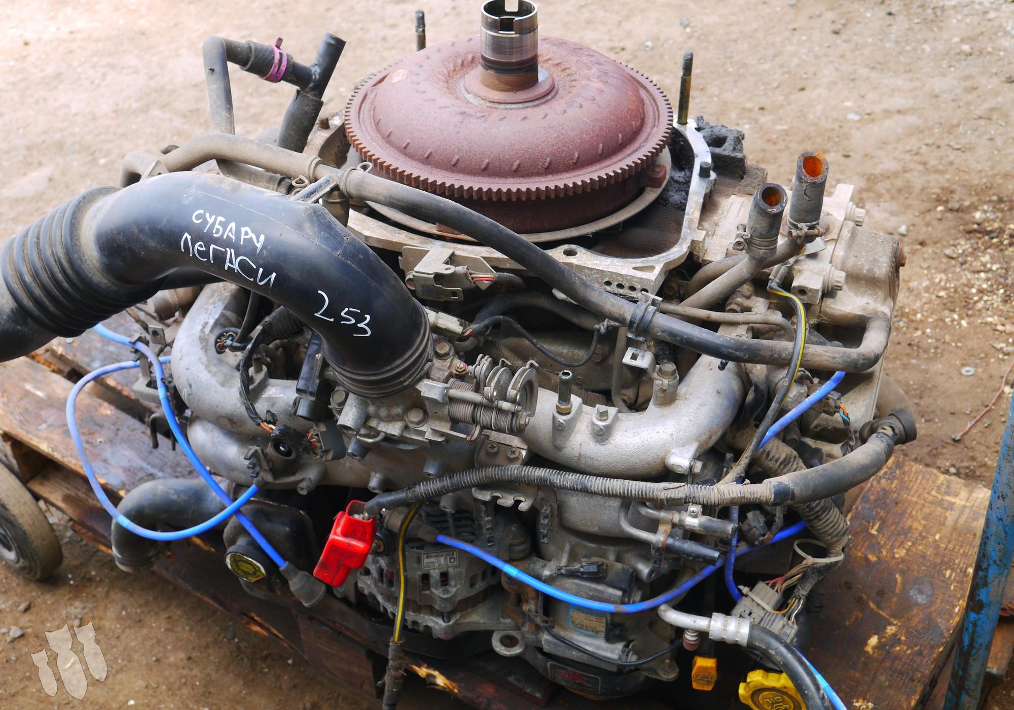 BG5A Двигатель в сборе для Subaru Legacy I (с 1989 по 1994)