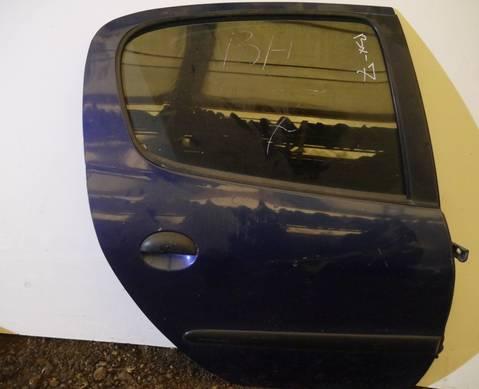 Дверь задняя правая для Peugeot 206 (с 1998)