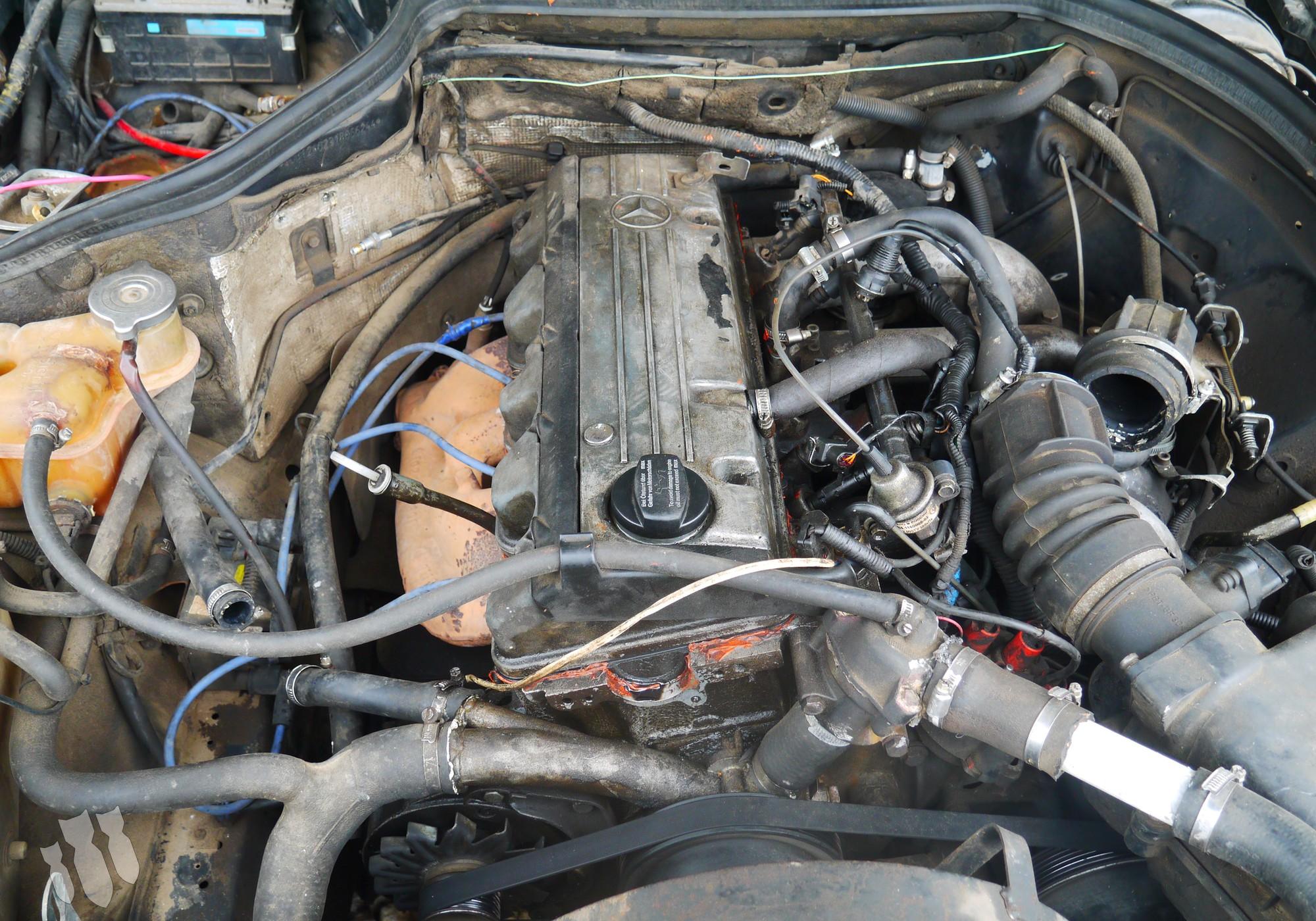 M102 Двигатель в сборе для Mercedes-Benz E-class W124 (с 1984 по 1996)