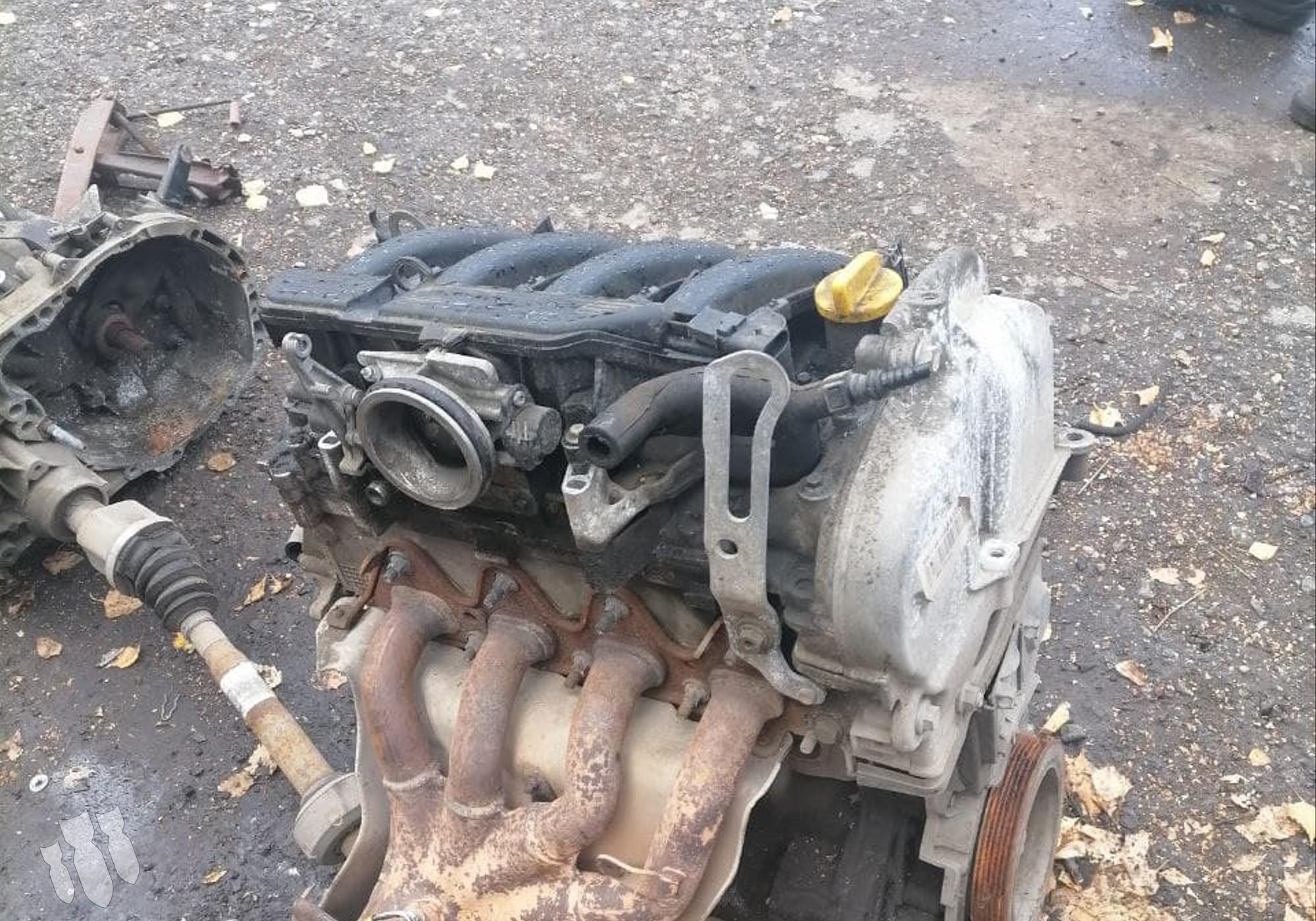 K4MA490 Двигатель для Nissan Almera III (с 2012 по 2018)