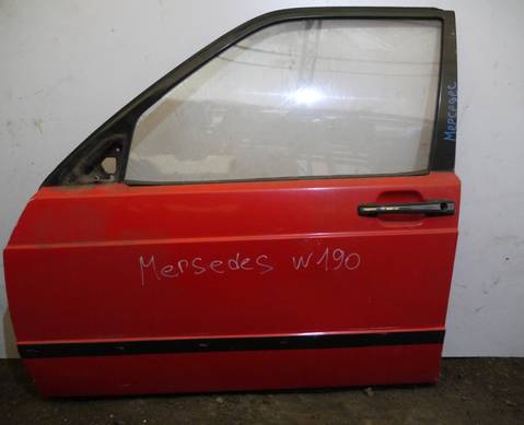 Дверь передняя левая для Mercedes-Benz 190 W201 (с 1982 по 1993)