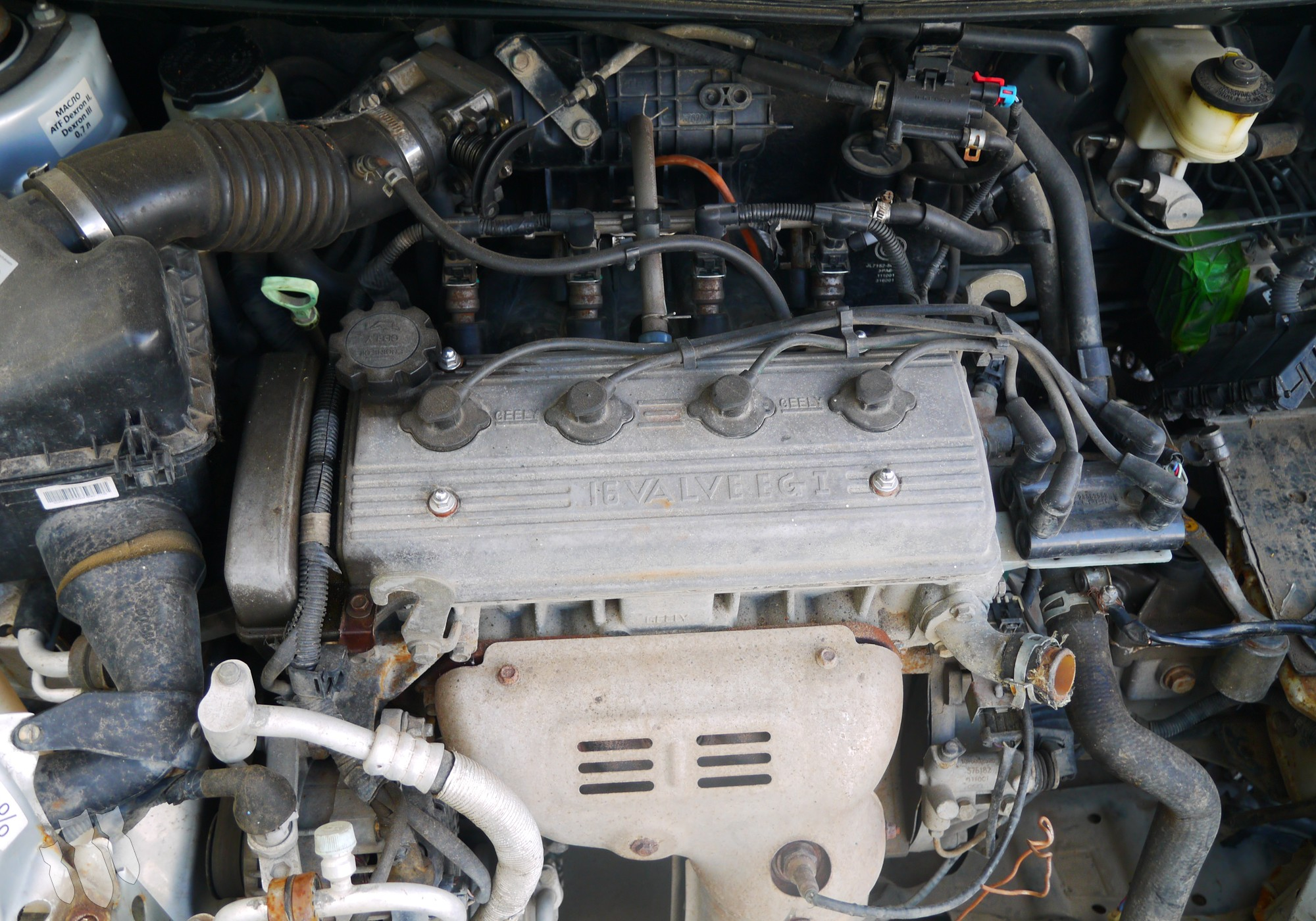 MR479QA Двигатель для Geely MK