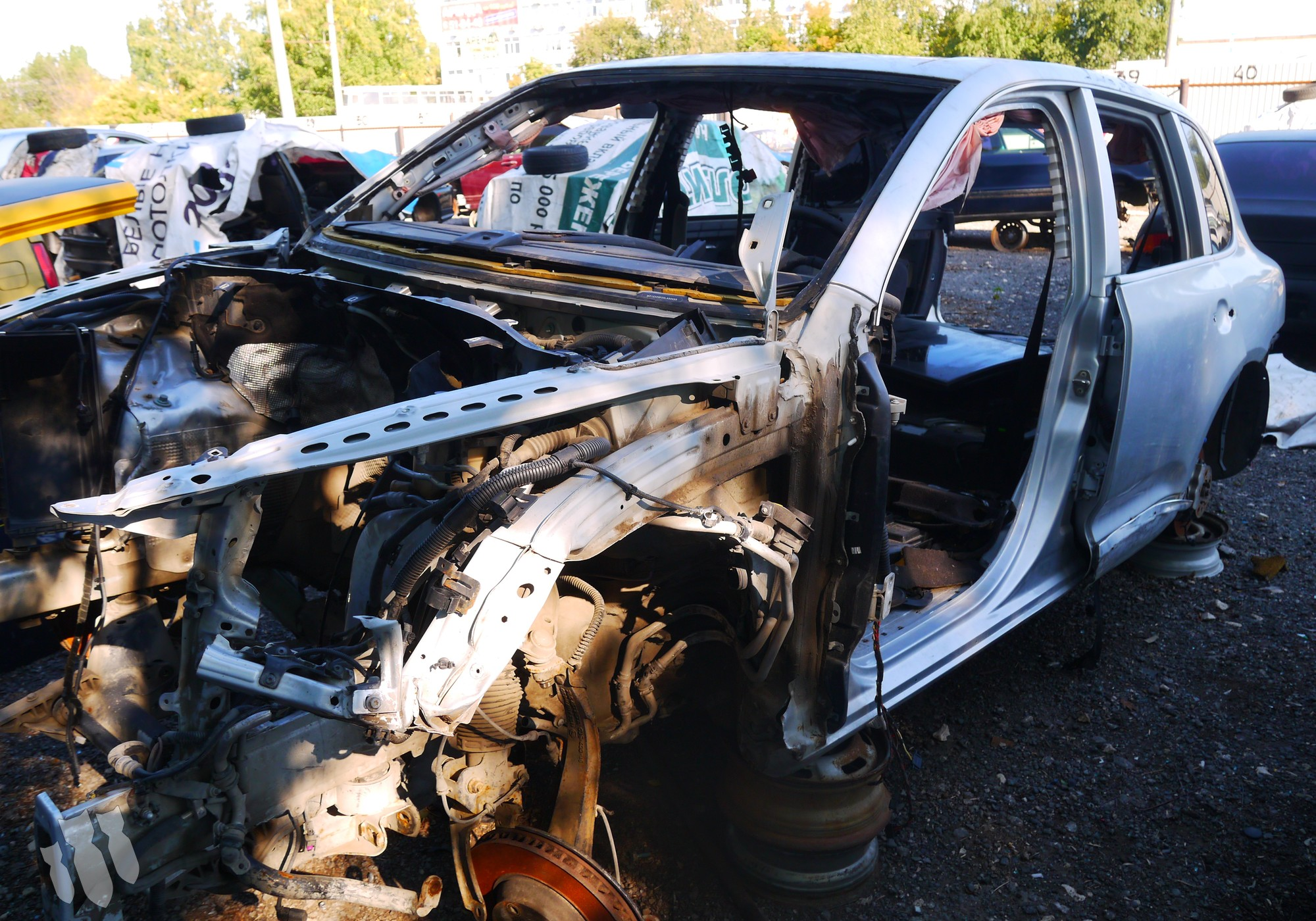Porsche Cayenne I в разборе