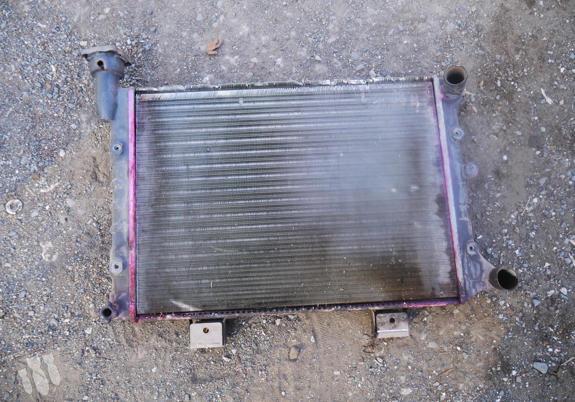 Радиатор системы охлаждения (инжектор) для Lada 2104
