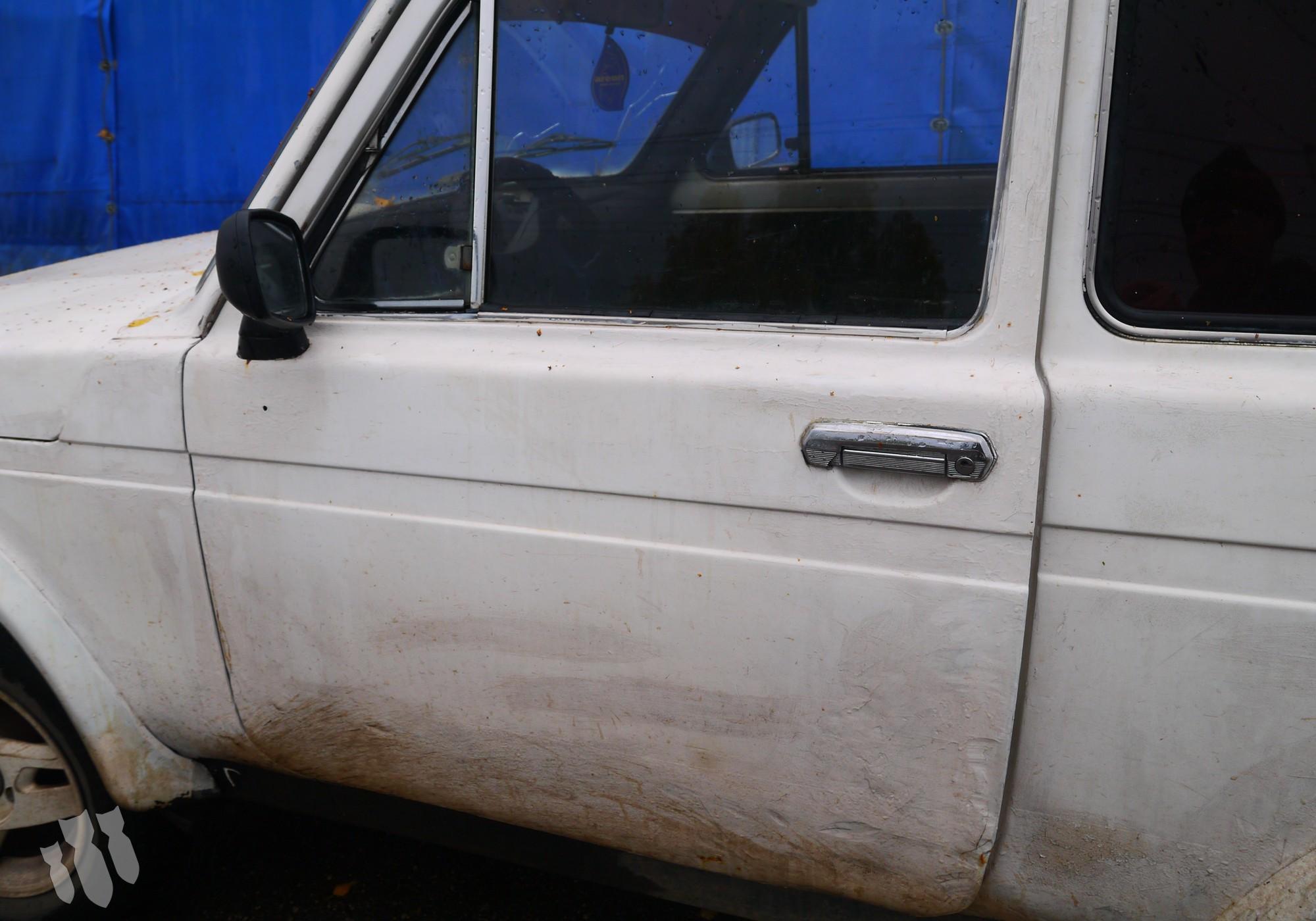 Дверь передняя левая для Lada Нива (4х4) 2121